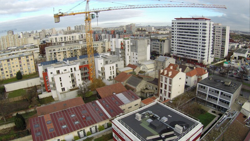 photo de drone pour Inspection avant le début de chantier Val de Marne Ile de France