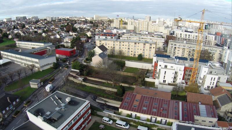 Val de Marne Photo aérienne avant l'implantation immobilière drone professionnel