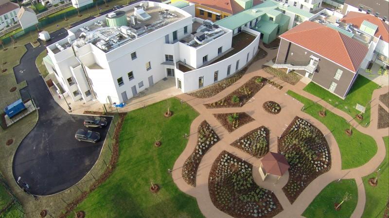 Photos en drone dans l'Essonne 91 à Vert le Grand