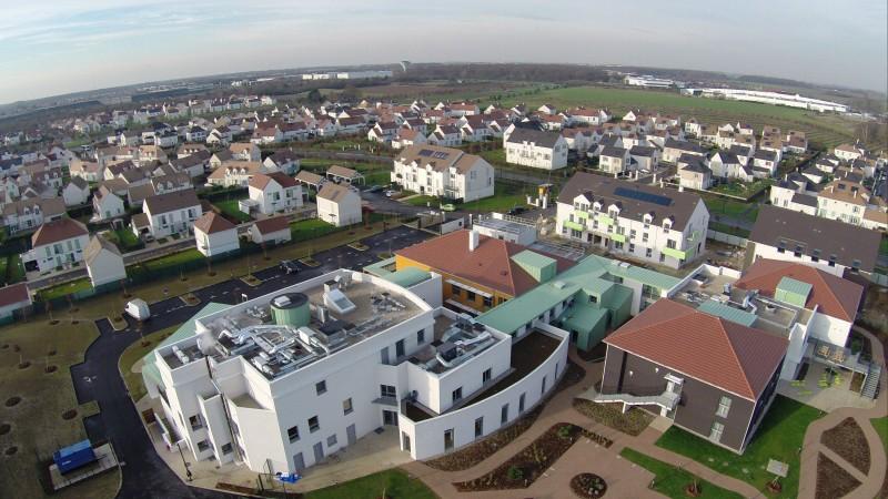 Ile de France Nouveau bâtiment pour les malades d'alzheimer à cesson