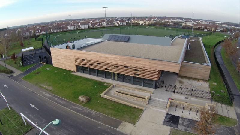 Seine et Marne photos aériennes du Complexe sportif vert-saint-Denis