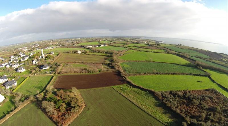 Bretagne Vues aériennes du bocage Apollo drone