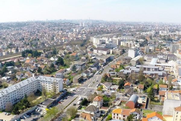 Drone professionnel  images aériennes pour un Projet immobilier 3D prêt de Senlis.
