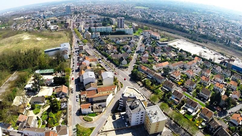 Dijon Photos en drone pour maquette 3D immobilière