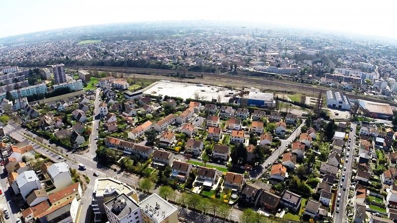 Dijon Etude d'Implantation immobilière à l'aide de photos aériennes gràce à un drone professionnel