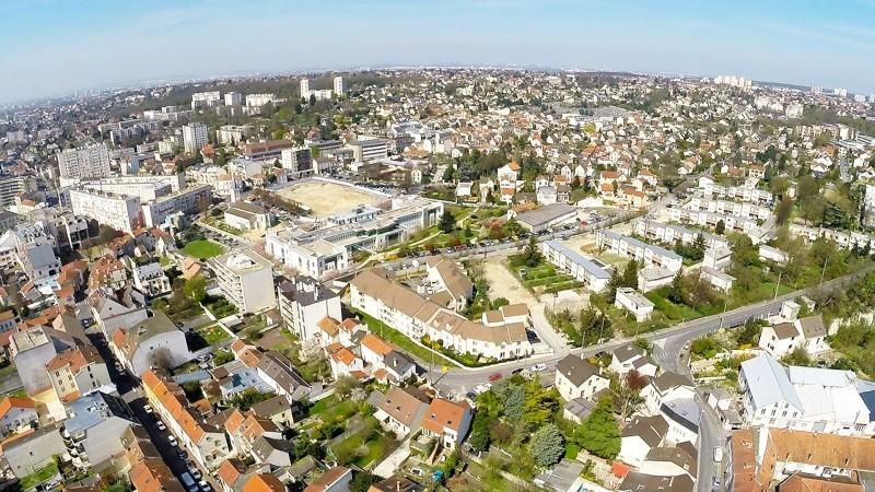 projet immobilier, étude d'Implantation immobilière sur vues aériennes de drone