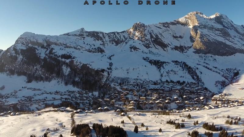 Grand-Bornand Photo aérienne avec drone professionnel Savoie