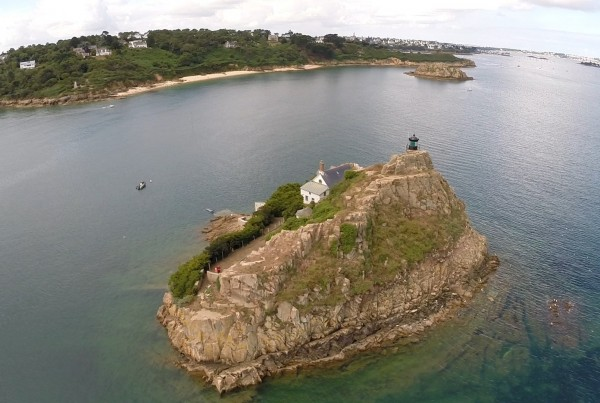 L'Île Louët – Finistère en vue aérienne photos et vidéos