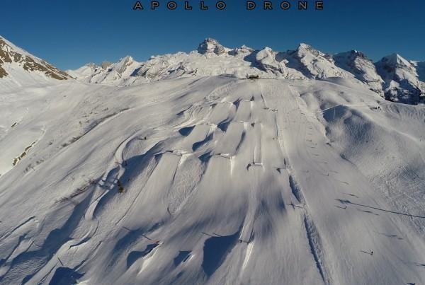Grand Bornand vu du ciel, photos et vidéos aériennes avec un drone professionnel