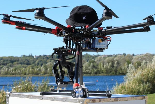 Vidéos aériennes de Wake board en drone au câble Crew de Jablines