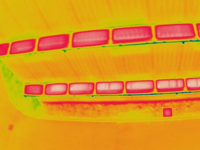 panneaux solaires inspection aérienne