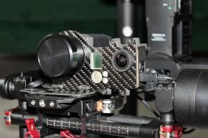 support-platine-camera-optrispi450-couplee-avec-go-pro