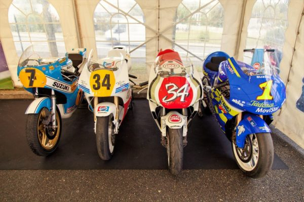 Un aperçu des motos qui ont fait la légende de Suzuki