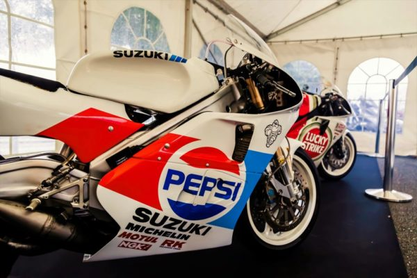 La Moto GP 500 cm3 2 temps de Monsieur Kevin Schwantz