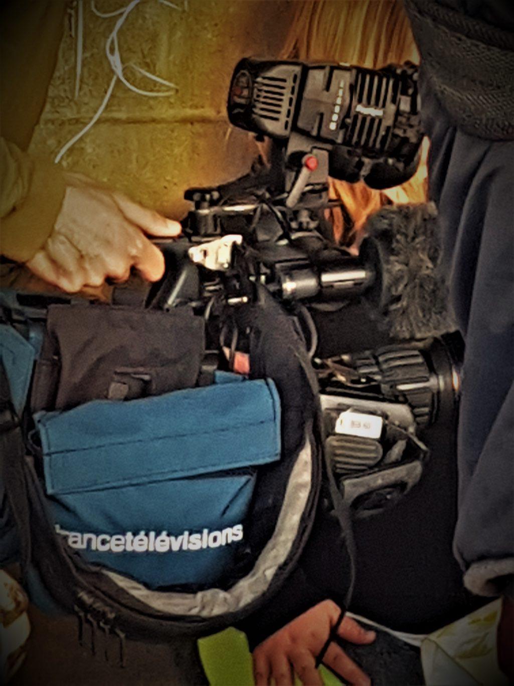 Apollo Drone en tournage avec France Télévisions pour le journal de 20h de France2