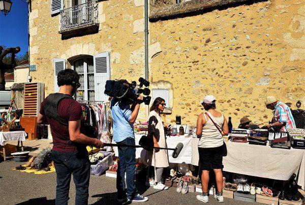 Apollo Drone en tournage avec France Télévisions