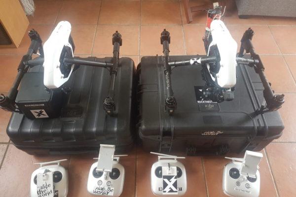 Notre paire d'inspire 1 homologué S3 avec caméra X5R