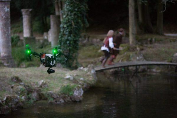 Inspire 1 homologué S3 . Apollo Drone participe au tournage d'un court métrage